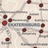 Sverdlovsk map