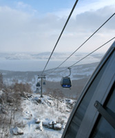 Russian Ski resorts: Ural mountains